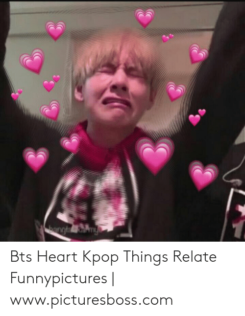 Bts Heart: bargley Bts Heart Kpop Things Relate Funnypictures | www.picturesboss.com