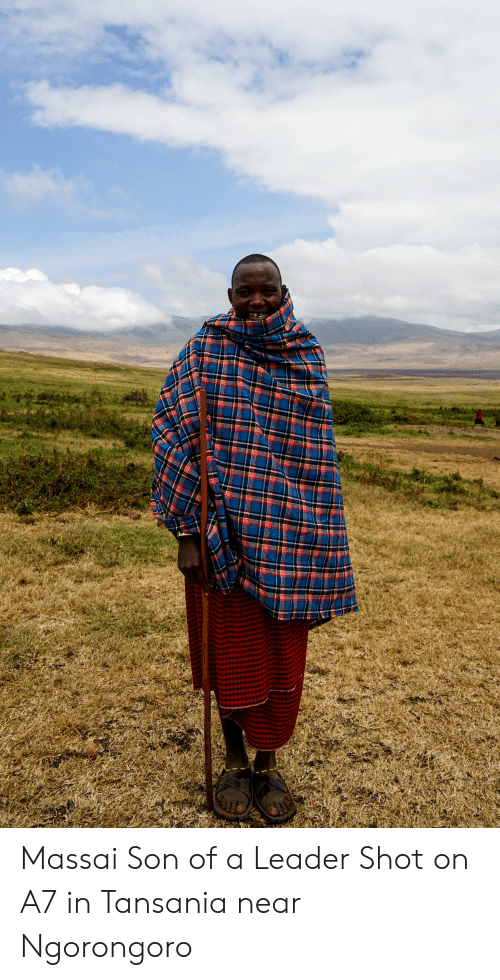 Son, Shot, and Leader: basNE Massai Son of a Leader Shot on A7 in Tansania near Ngorongoro