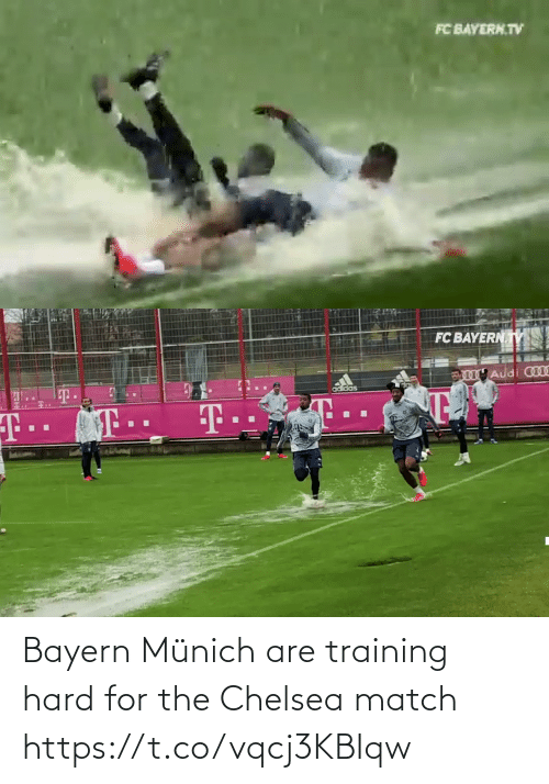 Match: Bayern Münich are training hard for the Chelsea match  https://t.co/vqcj3KBIqw