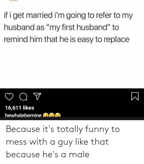 Conservative Memes: Because it's totally funny to mess with a guy like that because he's a male