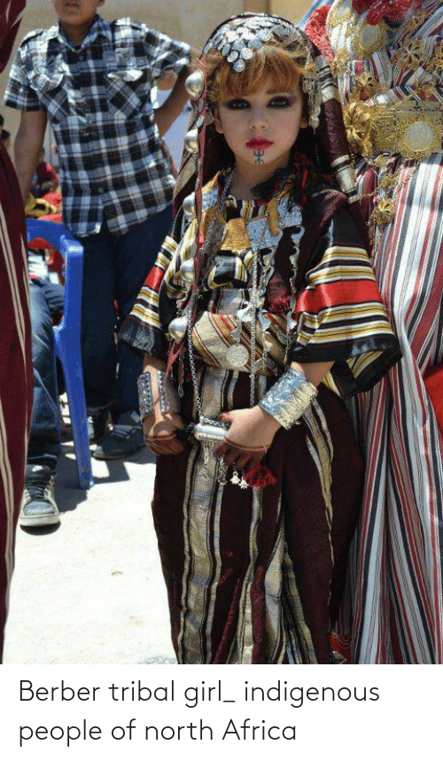 indigenous: Berber tribal girl_ indigenous people of north Africa