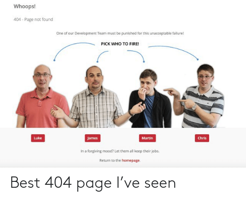 Best: Best 404 page I've seen