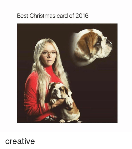 christmas cards: Best Christmas card of 2016 creative