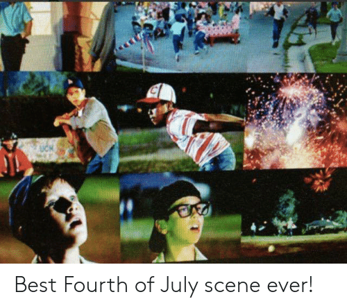 MLB: Best Fourth of July scene ever!