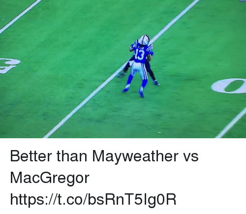 Mayweather, Memes, and 🤖: Better than Mayweather vs MacGregor https://t.co/bsRnT5Ig0R