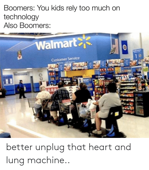 Heart: better unplug that heart and lung machine..