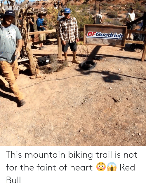 Red Bull: BFGOOodrich This mountain biking trail is not for the faint of heart 😳😱  Red Bull