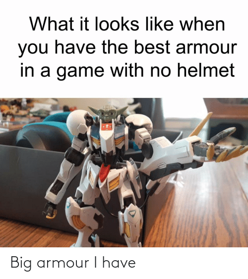 I Have: Big armour I have