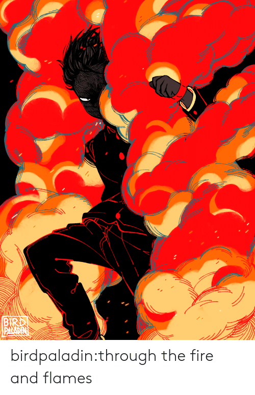 Fire, Target, and Through the Fire and Flames: BIRD birdpaladin:through the fire and flames
