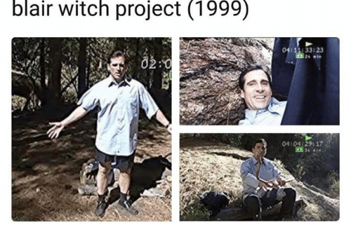 Project 1999, Witch, and Blair Witch Project: blair witch project (1999)  4:11:33:23  02:0  04:04129 17