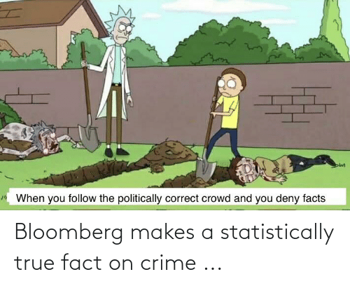 fact: Bloomberg makes a statistically true fact on crime ...
