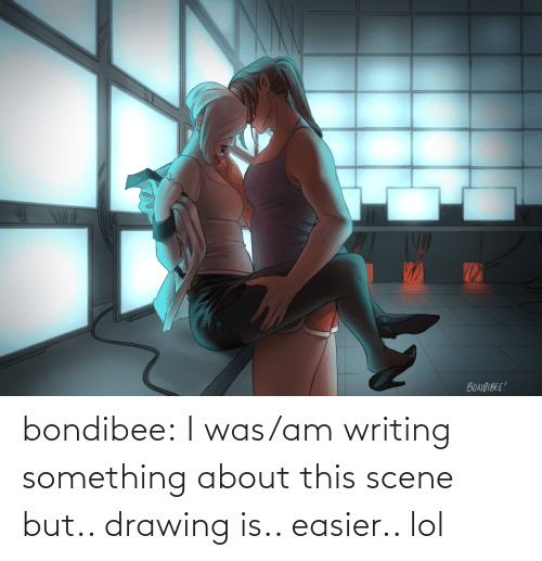 scene: bondibee:  I was/am writing something about this scene but.. drawing is.. easier.. lol