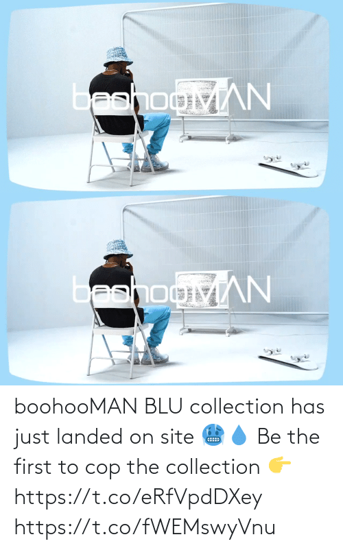 The First: boohooMAN BLU collection has just landed on site 🥶💧  Be the first to cop the collection 👉 https://t.co/eRfVpdDXey https://t.co/fWEMswyVnu