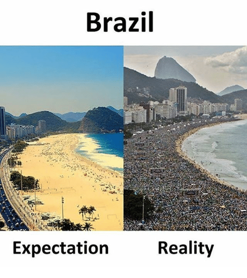 Memes, Brazil, and Reality: Brazil  Expectation  Reality