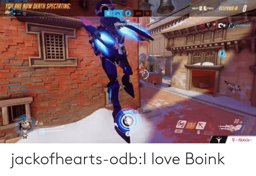Love, Odb, and Tumblr: BRE NDW DEATH SPECTATING  ,-Mobile. jackofhearts-odb:I love Boink