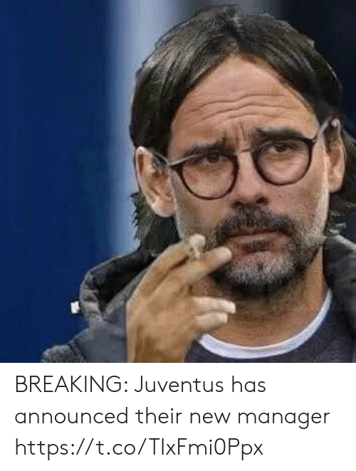Memes, Juventus, and 🤖: BREAKING: Juventus has announced their new manager https://t.co/TIxFmi0Ppx