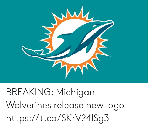 Football, Nfl, and Sports: BREAKING: Michigan Wolverines release new logo https://t.co/SKrV24lSg3
