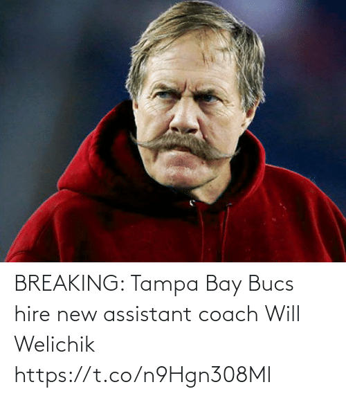 new: BREAKING: Tampa Bay Bucs hire new assistant coach Will Welichik https://t.co/n9Hgn308Ml