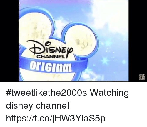 Disney, Funny, and Disney Channel: Brener  32  ISNE  CHANNEL #tweetlikethe2000s Watching disney channel https://t.co/jHW3YlaS5p