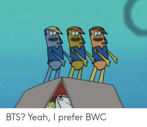 Funny, Yeah, and Bts: BTS? Yeah, I prefer BWC