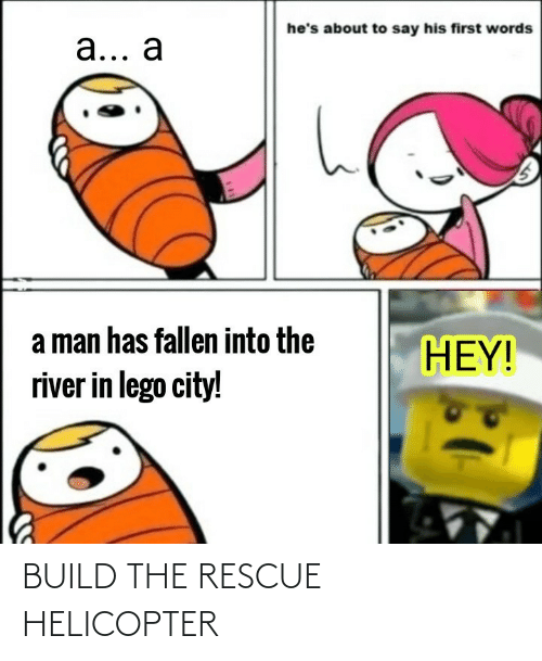 build: BUILD THE RESCUE HELICOPTER