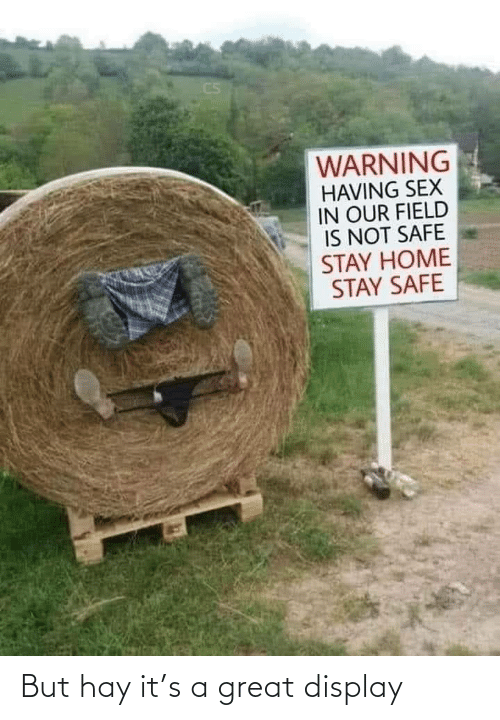 great: But hay it's a great display