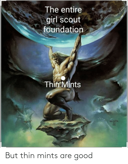 Thin Mints: But thin mints are good