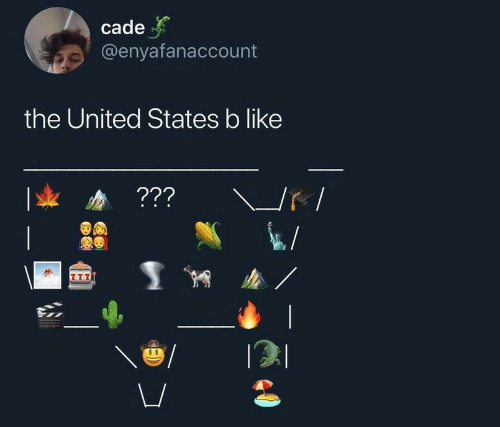 United, United States, and States: cade  @enyafanaccount  the United States b like  ???  T77  00