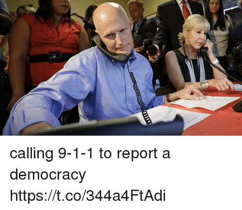 Memes, Democracy, and 🤖: calling 9-1-1 to report a democracy https://t.co/344a4FtAdi