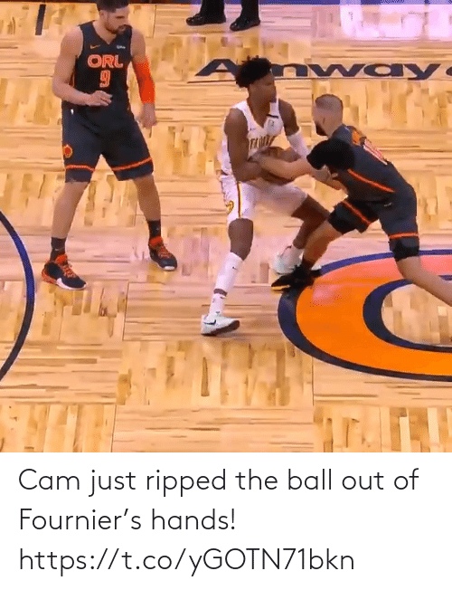 ripped: Cam just ripped the ball out of Fournier's hands!  https://t.co/yGOTN71bkn