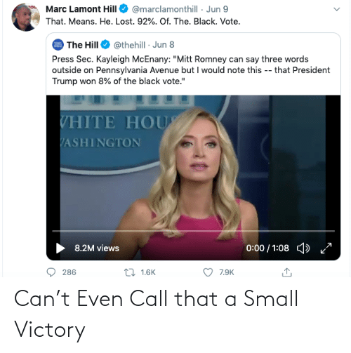 call: Can't Even Call that a Small Victory