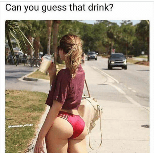Drinking, Memes, and Guess: Can you guess that drink?