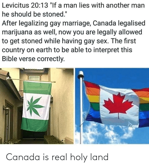 Canada: Canada is real holy land