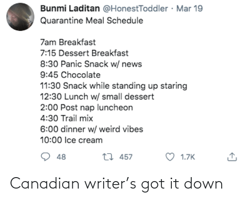 got: Canadian writer's got it down