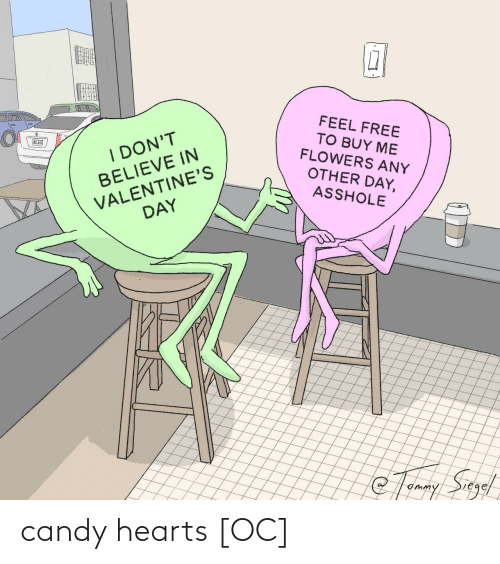 Hearts: candy hearts [OC]