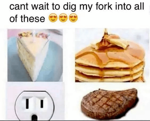 Dig, All, and Wait: cant wait to dig my fork into all  of these