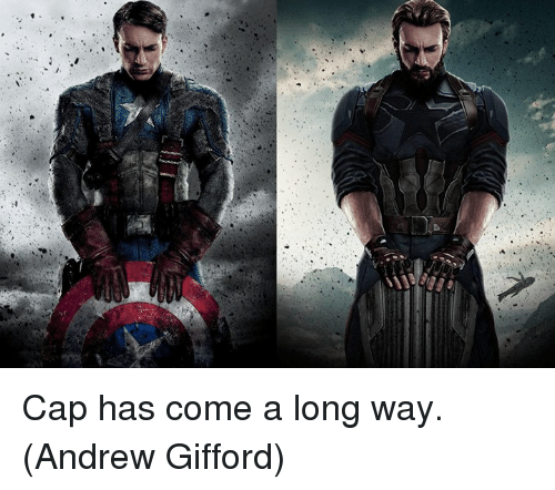 Memes, 🤖, and Cap: Cap has come a long way.  (Andrew Gifford)