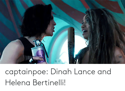 tumblr: captainpoe: Dinah Lance and Helena Bertinelli!