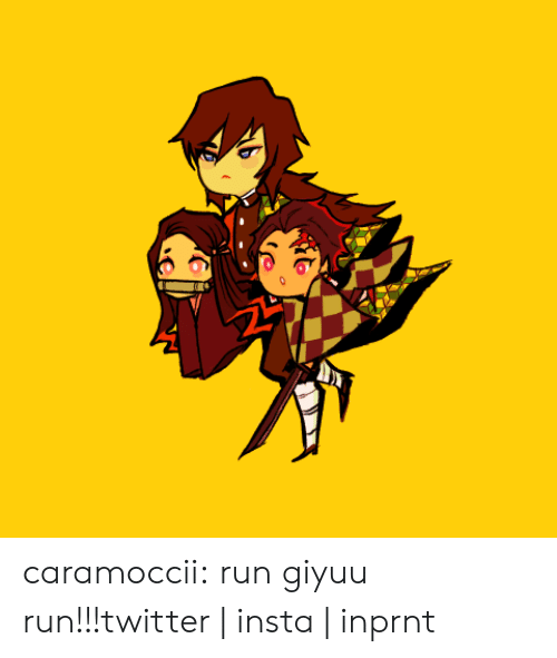 Instagram, Run, and Target: caramoccii:  run giyuu run!!!twitter | insta | inprnt