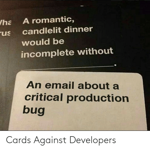 Against: Cards Against Developers