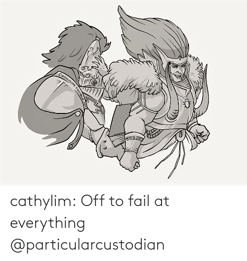 FAIL: cathylim:  Off to fail at everything   @particularcustodian