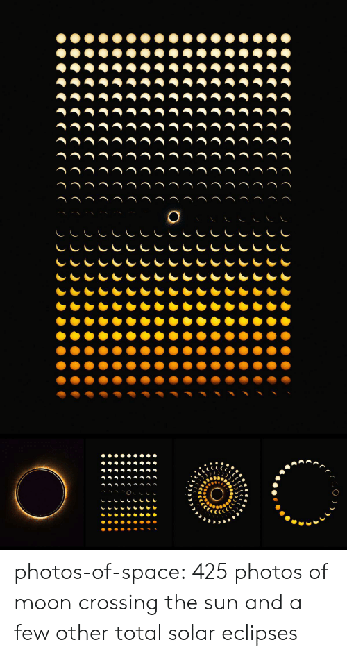 Tumblr, Blog, and Moon: CCCCO  CCCCC CO  CCCCCCO  CCCCC CO  CCCCC CO  CCCCCCO  CCC C CCO  CCCCCO  CCCCC  CCCCC  CCCCC (O  CCCCC C O.  CCCCC C .  CCCCCC . photos-of-space:  425 photos of moon crossing the sun and a few other total solar eclipses