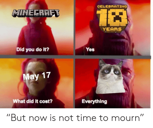 """Time, Yes, and Did: CELEBRATING  HINEERRF  YEARS  Did you do it?  Yes  17  What did it cost?  Everything """"But now is not time to mourn"""""""
