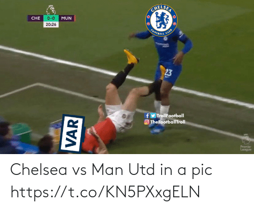 utd: Chelsea vs Man Utd in a pic https://t.co/KN5PXxgELN
