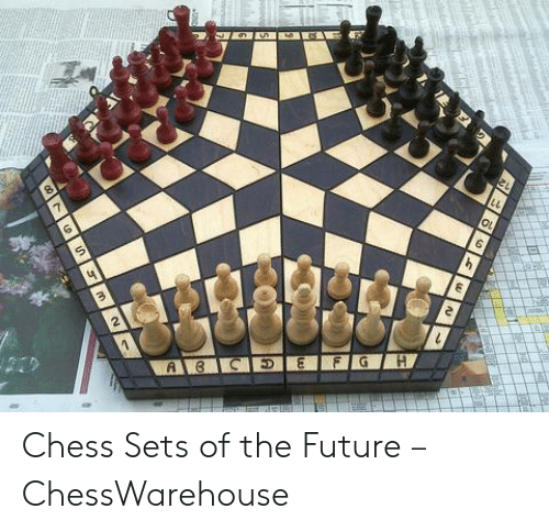 Four Dimensional Chess: Chess Sets of the Future – ChessWarehouse