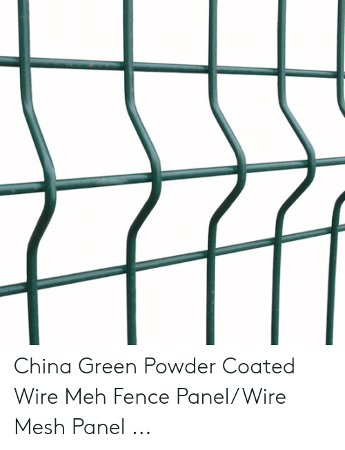 China Green Powder Coated Wire Meh Fence PanelWire Mesh