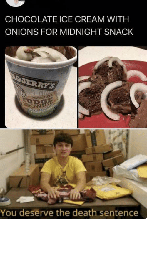 ice: Chocolate ice cream with what now by tractornucleareactor MORE MEMES