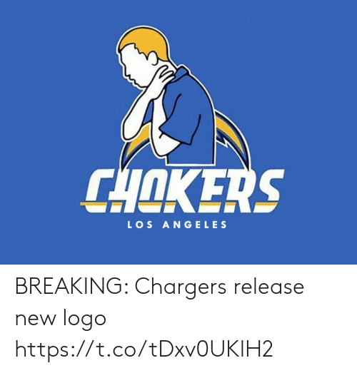 Football, Nfl, and Sports: CHOKERS  LOS ANGELES BREAKING: Chargers release new logo https://t.co/tDxv0UKlH2