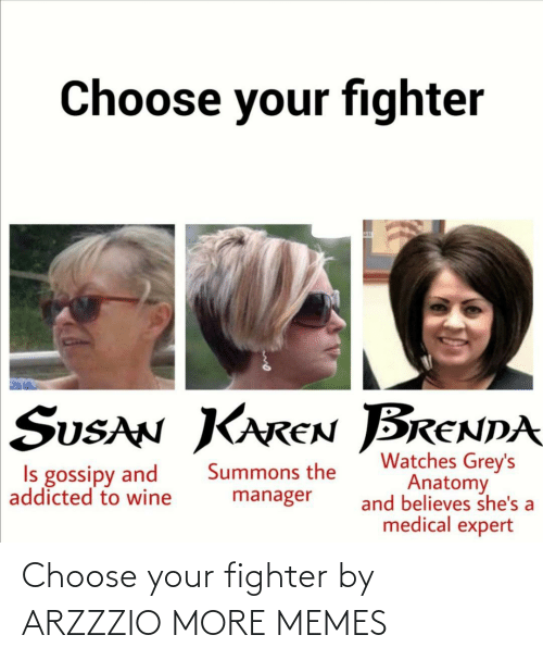 choose: Choose your fighter by ARZZZIO MORE MEMES