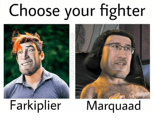 Choose,  Fighter, and Your: Choose your fighter  Farkiplier Marquaad